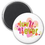Luv U 4 Ever Valentine Refrigerator Magnet