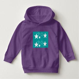 Luv U  ❤️ Luv Me toddler purple hoodie by DAL