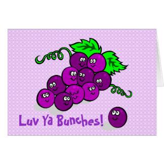 Luv Ya Bunches! Greeting Card