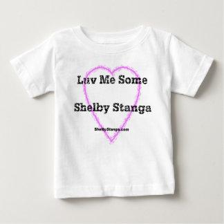 Luv yo un poco de camiseta del niño de Shelby Camisas