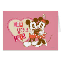 Luv You Lots Greeting Cards