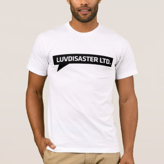 LuvDisaster LTD - Basic T-Shirt, White T-Shirt