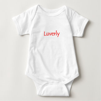 Luverly Baby Bodysuit