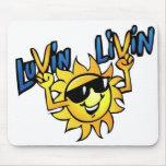 Luvin Livin Sun Graphic Mouse Pad