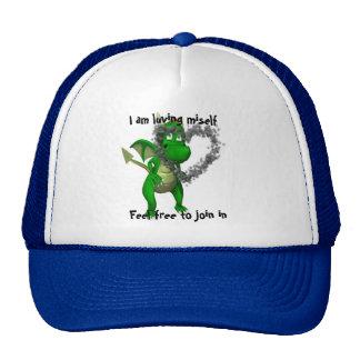 Luving miself trucker hat