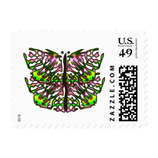 Luv'n My Day - Affirmation Postage Stamp