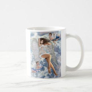 Luv's Angel Classic White Coffee Mug