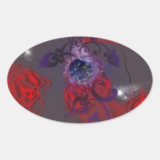 Luvspray Oval Sticker