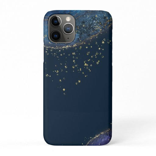 Lux Fantasy Blue Gold iPhone / iPad case