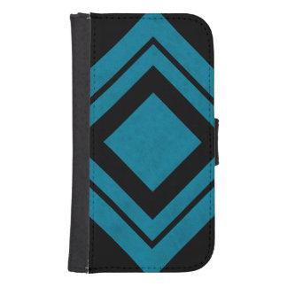 Lux Ocean Blue Color Velvet Personalize or Classic Phone Wallet