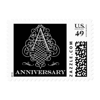 Luxe - Anniversary - Black Postage