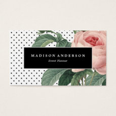 Luxe Botanical   Business Cards