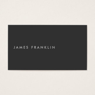 LUXE MINIMALISM with OFFSET TYPE Business Card