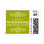 Luxe - Our Wedding Celebration - Green Stamps