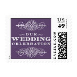 Luxe - Our Wedding Celebration - Purple Stamp