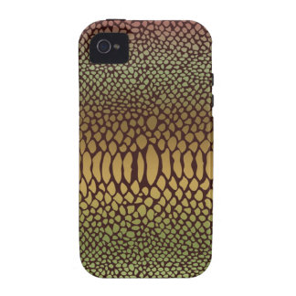 Luxe Snake Skin Print iPhone 4 and 4S Case Vibe iPhone 4 Cases