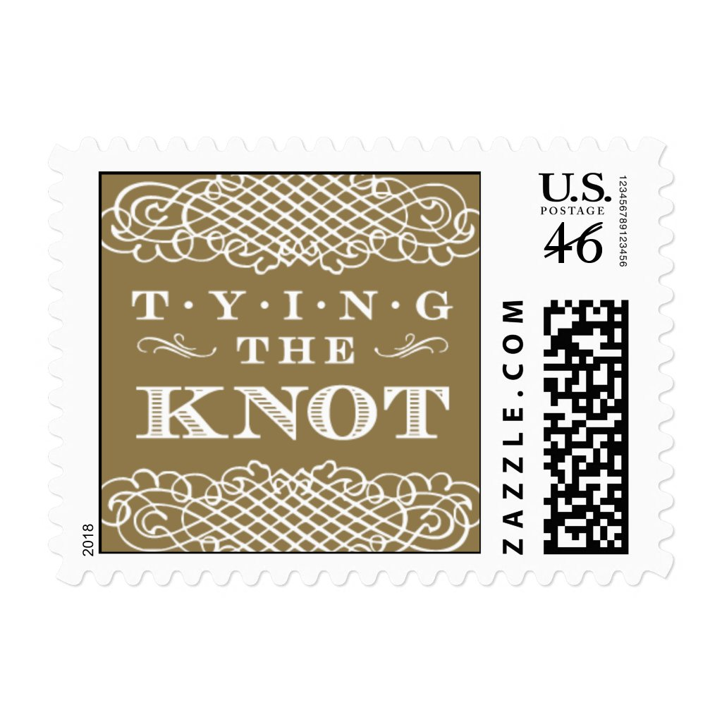 Luxe - Tying the Knot - Gold Stamps