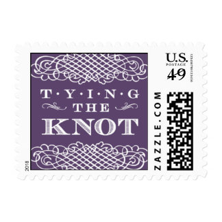 Luxe - Tying the Knot - Purple Postage