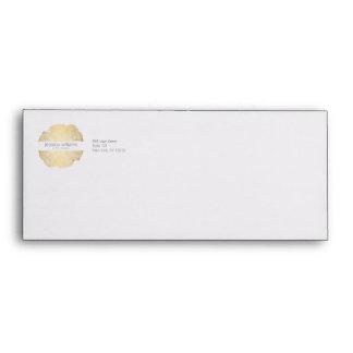 Luxe Wood Effect Art Envelope