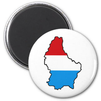 LUXEMBOURG BRITCHES! 2 INCH ROUND MAGNET