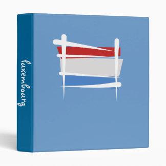 Luxembourg Brush Flag Binder