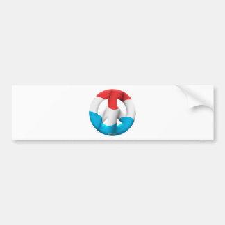 Luxembourg Car Bumper Sticker