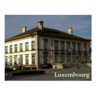 Luxembourg City Hall Postcard