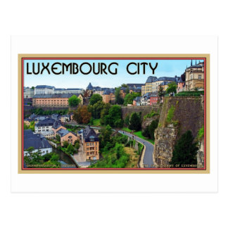 Luxembourg City Postcard