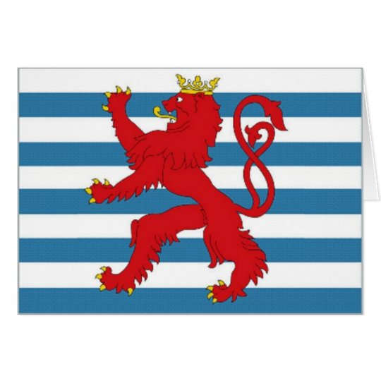 Luxembourg Civil Ensign Card