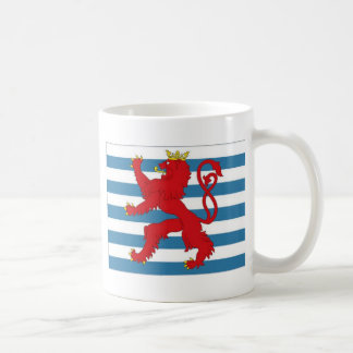 Luxembourg Civil Ensign Coffee Mug