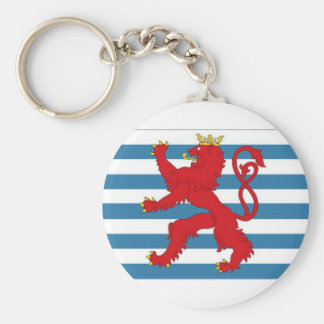 Luxembourg Civil Ensign Keychain
