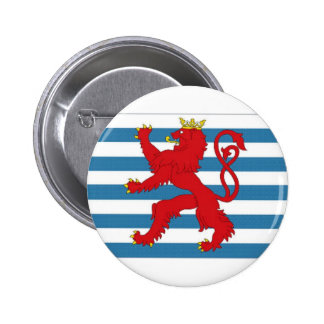 Luxembourg Civil Ensign Pinback Button