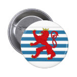 Luxembourg Civil Ensign Pinback Buttons