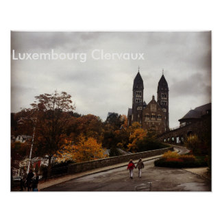 Luxembourg Clervaux Poster