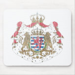 Luxembourg Coat Of Arms Mouse Pad