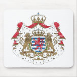 Luxembourg Coat Of Arms Mouse Pads