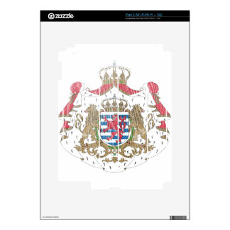 Luxembourg Coat Of Arms iPad 2 Skin
