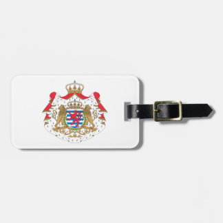 Luxembourg Coat of Arms Tag For Luggage