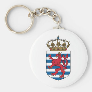 luxembourg emblem keychain