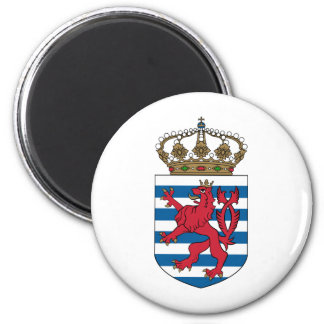 luxembourg emblem magnet