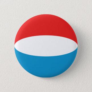 Luxembourg Fisheye Flag Button
