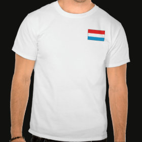 Selected Luxembourg T-Shirt Front