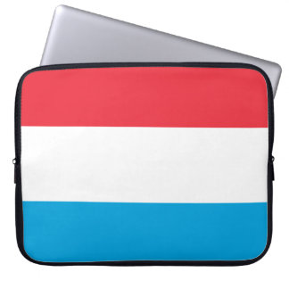 Luxembourg Flag Computer Sleeve