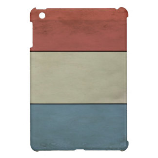 Luxembourg Flag grunged iPad Mini Cases
