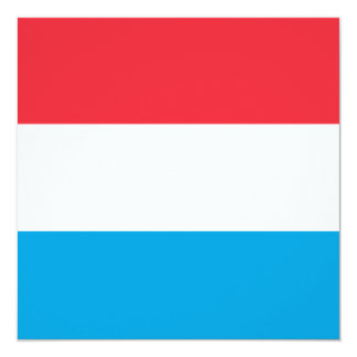 Luxembourg Flag Invitation