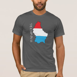 Luxembourg Flag-Map Shirt