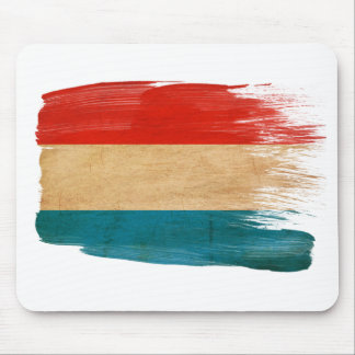 Luxembourg Flag Mousepads