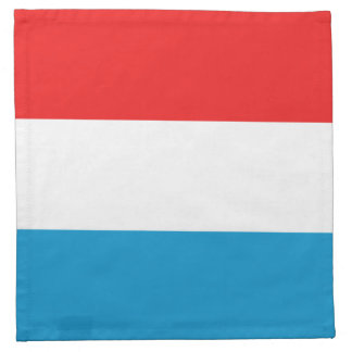 Luxembourg Flag Napkin