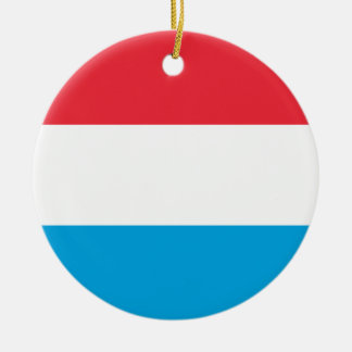 Luxembourg Flag Ornament