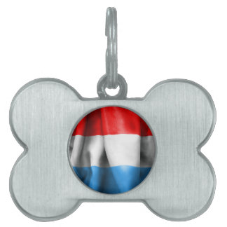 Luxembourg Flag Pet Tag